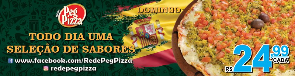 Banner PegPizza – Domingo